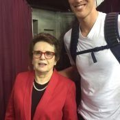 Meeting the legendary Billie Jean King