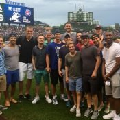 Jon Scheyer's bachelor party