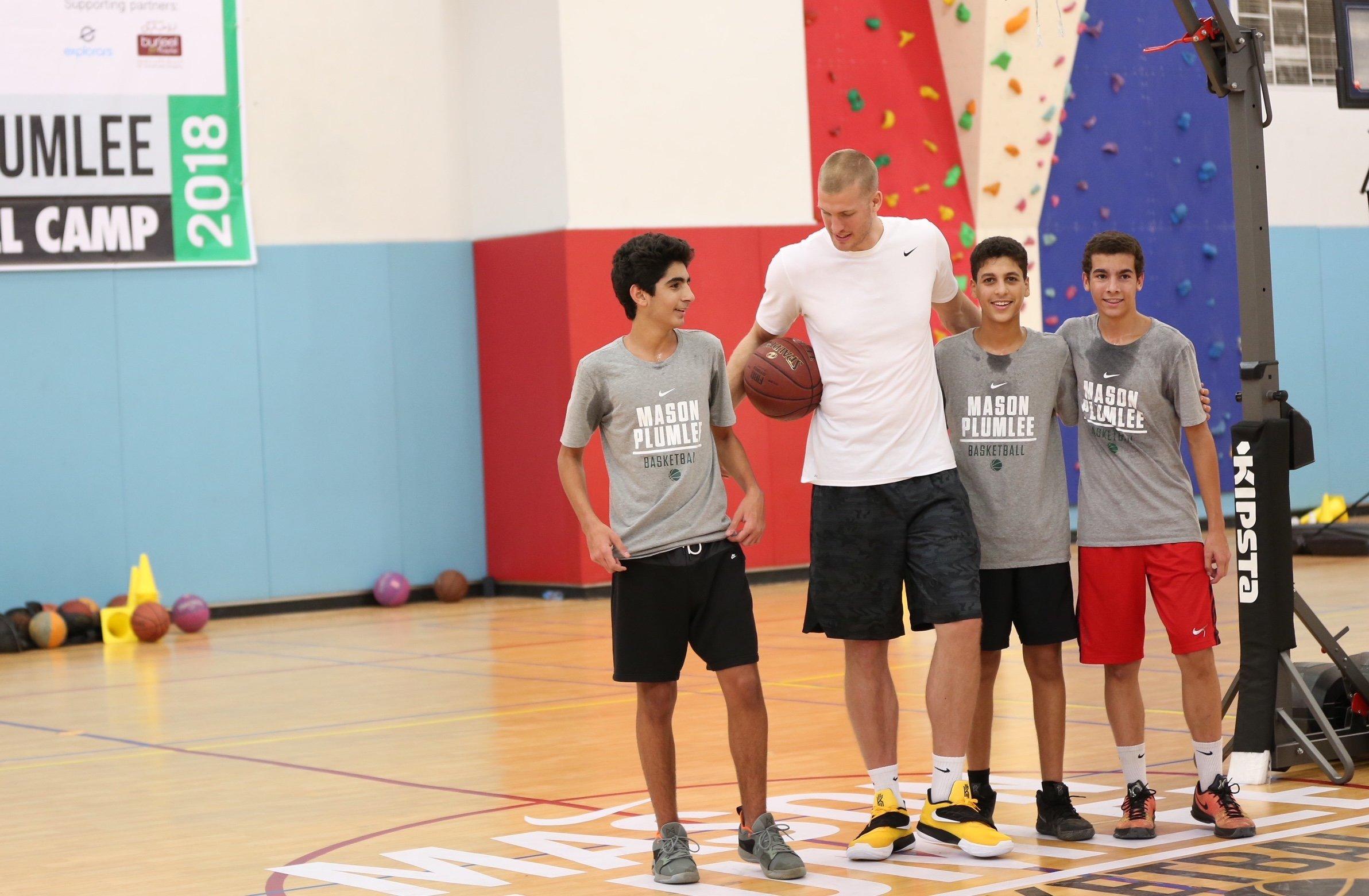 226d61800b8 Mason Plumlee Basketball Camp